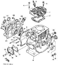 >Cylinder - Crankcase
