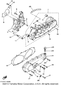 1998 yamaha razz sh50k carburetor babbitts online for Yamaha razz scooter parts