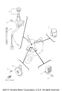 2002 yamaha zuma wiring diagram yamaha zuma engine diagram 2009 yamaha zuma (yw50yb) oem parts, ron ayers