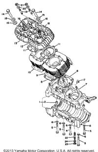 >Crankcase - Cylinder (Ex440a)
