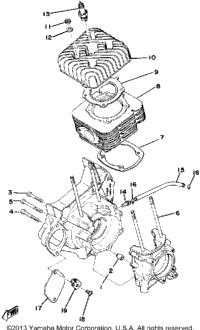 >Crankcase - Cylinder