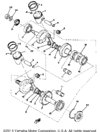 >Crankshaft - Piston