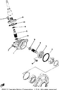 >Speedometer Gear Unit