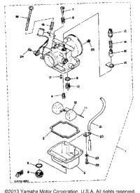 1984 yamaha enticer 340 et340h track suspension 2 babbitts yamaha partshouse. Black Bedroom Furniture Sets. Home Design Ideas