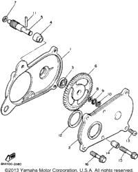 >Pump Drive - Gear