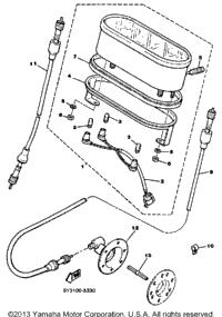 1986 yamaha excel iii ec340k oem parts babbitts online for Yamaha sun classic parts