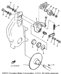 1986 yamaha phazer pz480k oem parts ronnie 39 s mail order for Yamaha sun classic parts