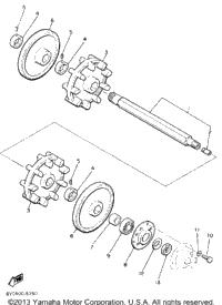 1986 yamaha srv sr540k oem parts babbitts online for Yamaha sun classic parts