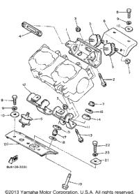 1986 yamaha v max vmx540k oem parts babbitts online for Yamaha sun classic parts