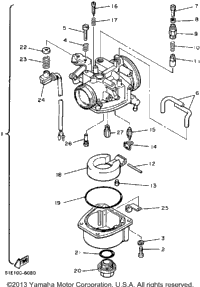 Geo Parts Diagrams also 1973 Yamaha Gp 433 Flywheel Mag o Assembly besides Aparato Respiratorio De Las Aves also 1998 Yamaha Vx700sxsb Vx700sxb Bumper Assembly also Tank Track Snowblower. on atv track diagram