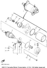 >Alternate Starting Motor