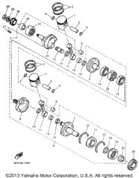 >Crankshaft Piston For Mm600