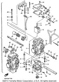 >Carburetor For Vx600