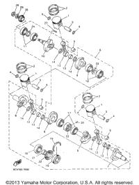 >Crankshaft Piston For Vx700