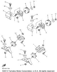 >Engine Bracket For Vx600