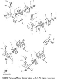 >Engine Bracket For Vx700