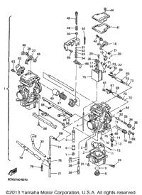 Carburetor furthermore 2005 Yamaha R1 Wiring Diagram further Polaris Atv Belt likewise Fzr 400 Fuse Box together with 1998 Venture 600 Vt600b Parts. on yamaha venture 600