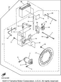 >Alternate Starter Motor Set