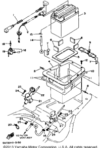 Wiring Diagram For A 1992 Yamaha Bruin 350 additionally 1995 Yamaha Timberwolf 250 Wiring Harness additionally Yamaha Tt500 Wiring Diagram as well Polaris Front Differential Diagram additionally Yamaha Bruin 250 Wiring Diagram. on wiring diagram for 1994 yamaha timberwolf