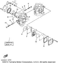 1995 yamaha wave raider  ra700t  oem parts  babbitts