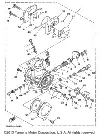 Oil System Diagram also Vintage Motorcycle Parts Results in addition 2005 Yamaha Waverunner Fx Cruiser High Output Fx1100ad Fx1100d Fuel Tank Assembly further Reflector Brackets Right likewise Yamaha Raider Wiring Diagram. on yamaha waverunner models