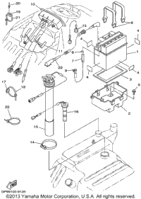 Wiring Diagram For The Engine Of A Yamaha Bruin 250