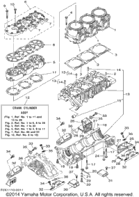 Schematic For  Yamaha Wave Runner Suv